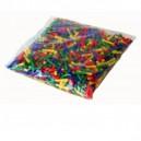 Náhradní kloboučky (0,5cm) barevné 1000ks