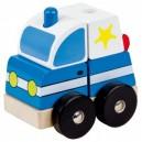 Dřevěné puzzle, policie
