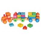 Vlak s domečky
