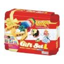 LaQ Gift Set L červený - 1 450 dílků