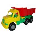 Auto Borec č.1 - sklápěčka (žluto-červená)