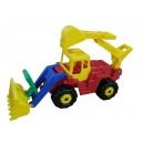 Traktor se lžící a bagrem Giant Duplo