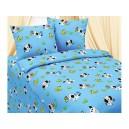 Bavlněné povlečení Dalmatin, modrý