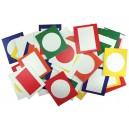 Obrázky do paravanu - Barvy a tvary 40 ks
