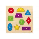 Úchopové puzzle - geometrické tvary