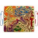 Velký labyrint s 2 magnetickými tužkami
