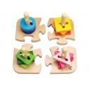 Kreativní nasazovací puzzle