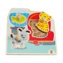 Úchopové  puzzle - moje domácí zvířátka