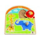 Úchopové puzzle - Zoo