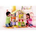 Domeček pro panenky - 4 roční období - včetně vybavení
