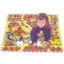 Svět hraček puzzle - pěnová podložka TM 008