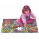 Motýli puzzle - pěnová deska PN 150P
