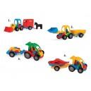 Traktor a auto - různé