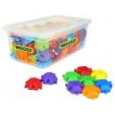 Puzzle kostky 120 ks v plastovém boxu
