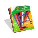 Vlnitý papír barevný A4