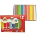 Školní křídy barevné 12ks