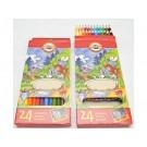 Školní pastelky Tom a Jerry 24ks