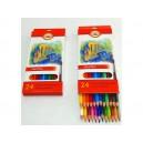 Školní akvarelové pastelky 24ks