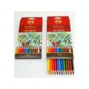 Umělecké akvarelové pastelové tužky 12ks