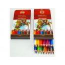 Umělecké akvarelové pastelové tužky 24ks