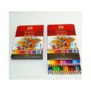 Umělecké akvarelové pastelové tužky 36ks