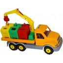 Polesie auto stopař kontejnerové
