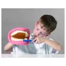 Model chrup + zubní kartáček