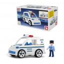 Igráček MULTIGO Policejní auto s policistou