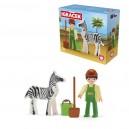 Igráček - Ošetřovatel a zebra - velká sada