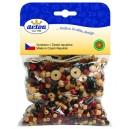Mix perlí hnědo-přírodní 100g