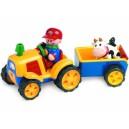 Tolo první přátelé - Traktor s valníkem a kravičkou