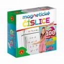 Magnetické číslice - na lednici