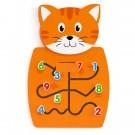 Stěnový prvek - Kočka - 1díl