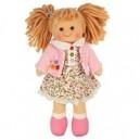Látková panenka Poppy 25 cm