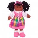 Látková panenka Jess 25cm