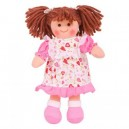Látková panenka Amy 25cm