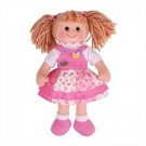 Látková panenka Hayley 35 cm