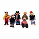 Set panenek-piráti