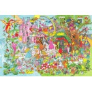 Dřevěné puzzle - Fantasyland 48 dílků