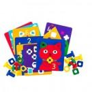 Předlohové karty ke šroubům a maticím 12 ks