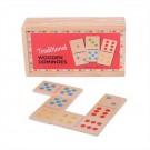 Dřevěné domino klasické