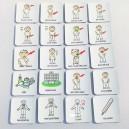 Set 20 ks piktogramů – Zdraví 1