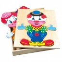 puzzle Šatní skříň velká - klaun