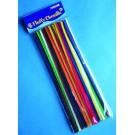 Modelovací dráty 30 cm, 50 ks - barevné