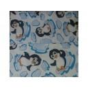 Povlečení krep - tučňák