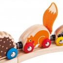 Hmatový vlak zvířata