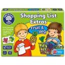 Nákupní seznam - ovoce a zelenina