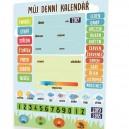 Denní kalendář s počasím