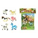 Veselá zvířátka Farma 6 ks