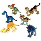 Veselá zvířátka Dinosauři 6 ks